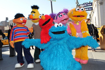 Cookie Monster  Street Renaming To Celebrate The 30th Anniversary Of Sesame Street Live