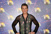 """James Cracknell attends the """"Strictly Come Dancing"""" launch show red carpet at Television Centre on August 26, 2019 in London, England."""