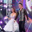 Catherine Tyldesley and James Cracknell
