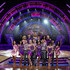 Janette Manrara Karen Clifton Photos - (Front L-R)  Joanne Clifton, Frankie Bridge, Kevin Clifton, Helen George, Aljaz Skorjanec,  Anita Rani, Gleb Savchenko, Georgia May Foote, Giovanni Pernice and Karen Clifton, host Mel Giedroyc (C) and (Back L-R) Aliona Vilani, Jay McGuiness, Natalie Lowe, Ainsley Harriott, Janette Manrara and Jake Wood pose during a photocall for the Strictly Come Dancing Live Tour 2016 at Barclaycard Arena on January 21, 2016 in Birmingham, England. - Strictly Come Dancing - Live Tour 2016