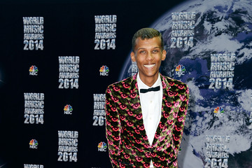 Stromae Arrivals at the World Music Awards