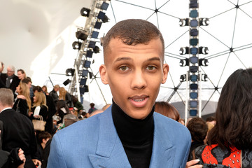 Stromae Front Row at Louis Vuitton