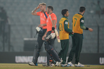 Stuart Broad England v South Africa - ICC World Twenty20 Bangladesh 2014