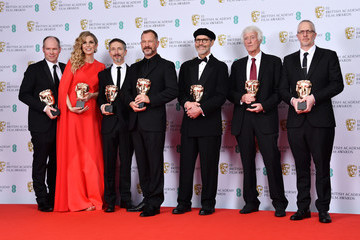 Stuart Wilson EE British Academy Film Awards 2020 - Winners Room