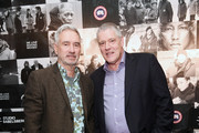 Roland Emmerich and Christoph Fisser attend the Studio Babelsberg Night X Canada Goose on the occasion of the 68th Berlinale International Film Festival at Soho House on February 16, 2018 in Berlin, Germany.
