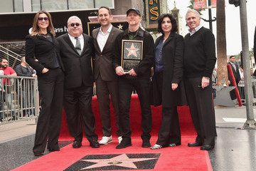 Sue Kroll Greg Silverman Ron Howard Is Honored with a Star on the Hollywood Walk of Fame