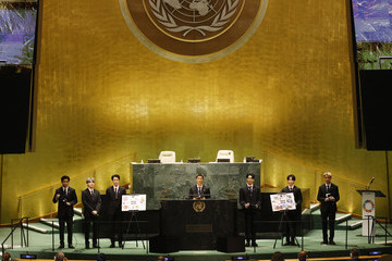 Suga J Hope Annual United Nations General Assembly Brings World Leaders Together In Person, And Virtually