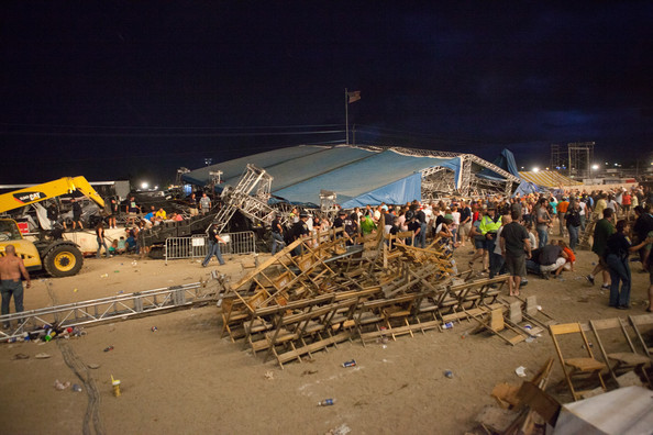 Sugarland's Stage Collapses At The Indiana State Fair