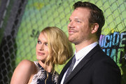 """Leven Rambin and Jim Parrack attend the """"Suicide Squad"""" World Premiere at The Beacon Theatre on August 1, 2016 in New York City."""