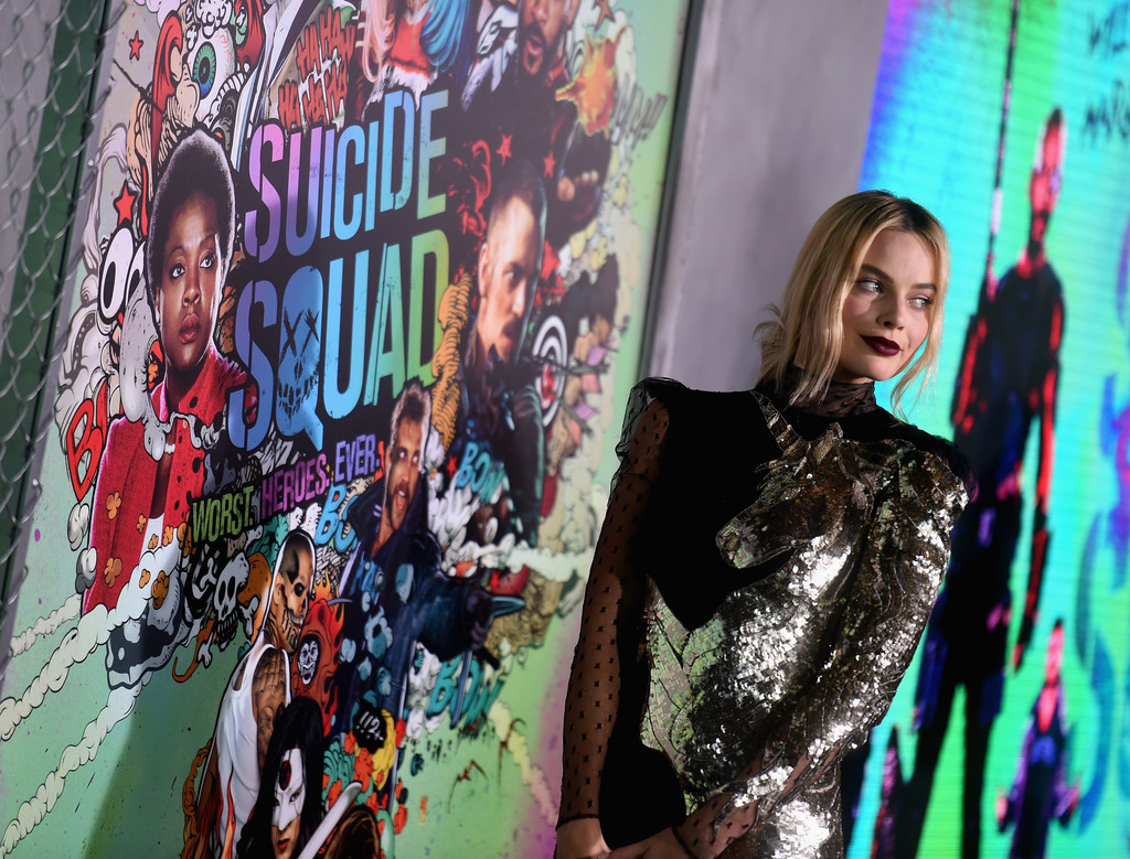 Margot Robbie attends the 'Suicide Squad' World Premiere in NYC