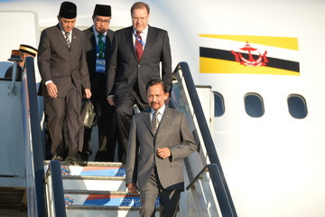 Sultan Hassanal Bolkiah Arrivals at the G20 Leaders Summit