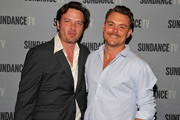 (L-R)  ActorsÊAden Young and Clayne Crawford attend SundanceTV's presentation of Panel Discussions featuring creators and stars of 'Rectify' and 'The Honorable Woman' on May 16, 2015 in Los Angeles, California.