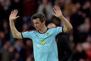 Joey Barton of Burnley reacts during the Premier League match between Sunderland and Burnley at Stadium of Light on March 18, 2017 in Sunderland, England.