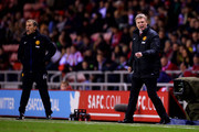 Phil Neville David Moyes Photos Photo