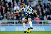 Hatem Ben Arfa of Newcastle during the Barclays Premier League match between Sunderland and Newcastle United at Stadium of Light on October 27, 2013 in Sunderland, England.