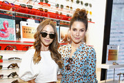 Blogger Bridget Bahl (L) and actress Sophia Bush attend Sunglass Hut's 'Made For Summer' event featuring Sophia Bush at Sunglass Hut Times Square on June 20, 2017 in New York City.