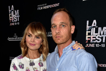 """Sunny Mabrey Ethan Embry 2015 Los Angeles Film Festival -  Opening Night Premiere of Sony Pictures Classics' """"Grandma"""" - Red Carpet"""