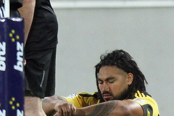 Ma'a Nonu Andrew Hore Super Rugby Rd 1 - Hurricanes v Highlanders