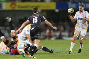 Michael Fitzgerald of the Chiefs during the Super Rugby match between Cell C Sharks and Chiefs at Growthpoint Kings Park on March 21, 2015 in Durban, South Africa.