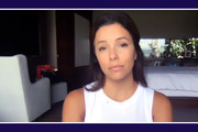 In this screengrab Eva Longoria participates in Supercharge: Women All In, a virtual day of action hosted by Supermajority, on September 26, 2020 in United States.