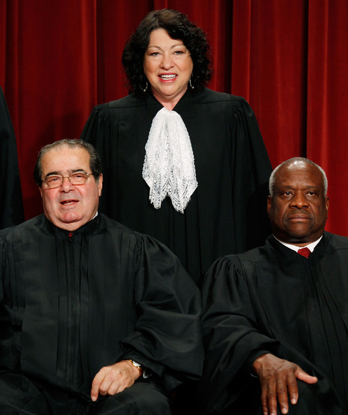 U.S. Supreme Court Justices Pose For Group Photo