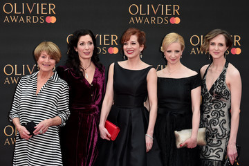 Susan Brown The Olivier Awards 2019 With MasterCard - Red Carpet Arrivals