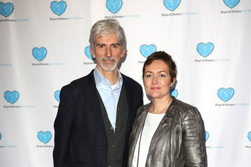 Damon Hill with cool, sweet, nice, Wife Susan George