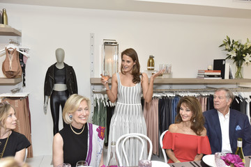 Susan Lucci Helmut Huber Carbon 38 And Hamptons Magazine Private Dinner