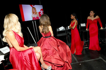 Susan Lucci The American Heart Association's Go Red For Women Red Dress Collection 2019 - Backstage