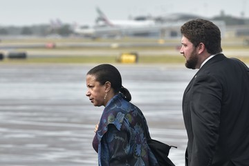 Susan Rice President Obama at MacDill Air Force Base to Speak on Counterterrorism