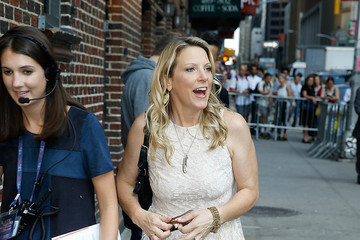 Susan Tedeschi Celebrities Attend the First Taping of 'The Late Show With Stephen Colbert'