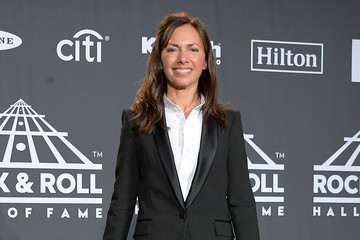 Susanna Hoffs 2019 Rock & Roll Hall Of Fame Induction Ceremony - Press Room