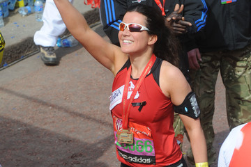 Susanna Reid Virgin London Marathon 2013