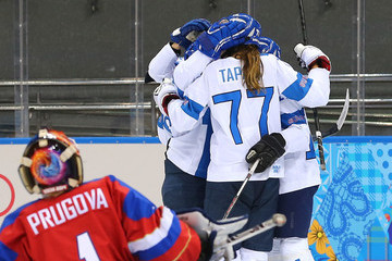 Susanna Tapani Ice Hockey - Winter Olympics Day 11