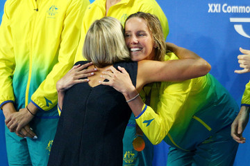 Susie O'Neill Swimming - Commonwealth Games Day 1