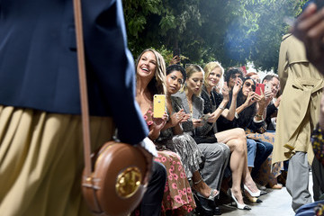 Sutton Foster Michael Kors Collection Spring 2020 Runway Show - Front Row