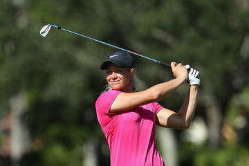 Suzann Pettersen CME Group Tour Championship - Round One