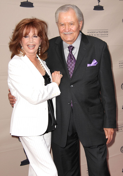 """Academy Of Televison Presents """"Celebrating 45 Years Of Days Of Our Lives"""" [days of our lives,suit,formal wear,tuxedo,event,fashion,white-collar worker,pantsuit,premiere,dress,suzanne rogers,john aniston,leonard h. goldenson theatre,north hollywood,california,academy of televison presents,academy of television arts and sciences,l,celebration]"""