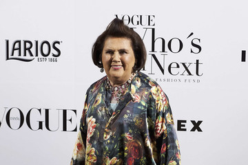 Suzy Menkes 'Vogue Who's on Next' Party in Madrid