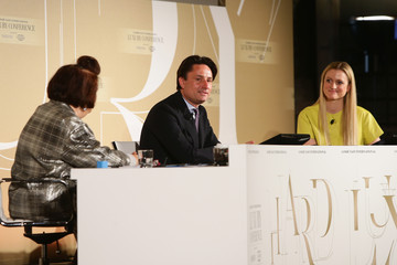 Suzy Menkes Sophie Hackford Conde' Nast International Luxury Conference - Day 1