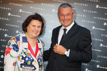 Suzy Menkes Bulgari Presents Isabella Ferrari Cocktail Party