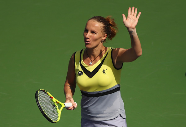 Svetlana Kuznetsova Requests Selfie With Pavlyuchenkova, Then Defeats Her In The Desert