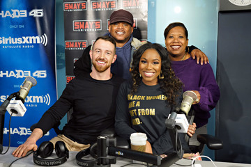 Sway Calloway Celebrities Visit SiriusXM - March 6, 2020