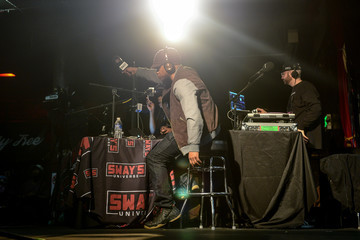 Sway Calloway SiriusXM's 'Sway in the Morning' on Shade 45 Hosted by Sway Calloway Broadcasts Live From Denver