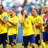 Sebastian Larsson Photos - Sebastian Larsson of Sweden shows his dejection following the 2018 FIFA World Cup Russia Quarter Final match between Sweden and England at Samara Arena on July 7, 2018 in Samara, Russia. - Sweden vs. England: Quarter Final - 2018 FIFA World Cup Russia