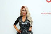Farrah Abraham attends Mode Suisse presented by Swiss Touch during New York Fashion Week on September 09, 2019 in New York City.