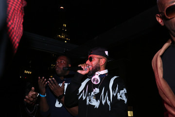 Swizz Beatz The Official SS18 FENTY PUMA After Party at Magic Hour Rooftop Bar & Lounge