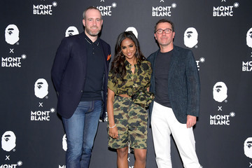 Sylvain Costof Montblanc And BAPE Celebrate Limited Edition Collaboration With NYC Event