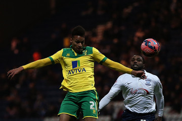 Sylvan Ebanks-blake Preston North End v Norwich City - FA Cup Third Round