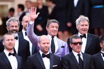 """Sylvester Stallone Jason Statham """"The Expendables 3"""" Premiere - The 67th Annual Cannes Film Festival"""